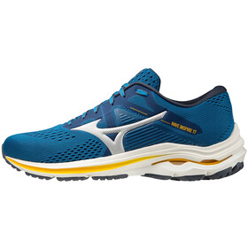 Mizuno Wave Inspire 17 Shoes Men, mykonos blue/silver/saffron